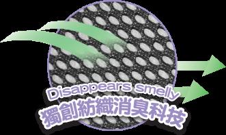 Snug鞋墊貼獨創紡織消臭科技