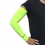 涼感防曬袖套-螢光黃