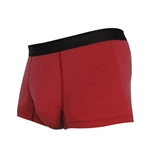 雅仕清新褲(平口貼身)-紅色-2件