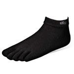 五趾船襪-黑-6雙