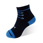 健康童襪-鞋帶藍-6雙