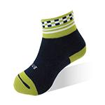 健康童襪-方塊綠-6雙