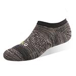 運動船襪-緞染黑灰-6雙