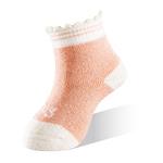 新生兒寶寶襪-粉白-6雙