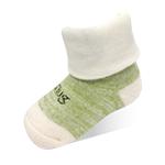 新生兒寶寶襪-冰綠-6雙