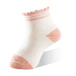 新生兒寶寶襪-粉橘-6雙